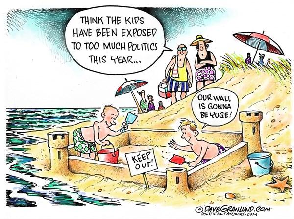 Kids and Politics Dave Granlund Politicalcartoons com