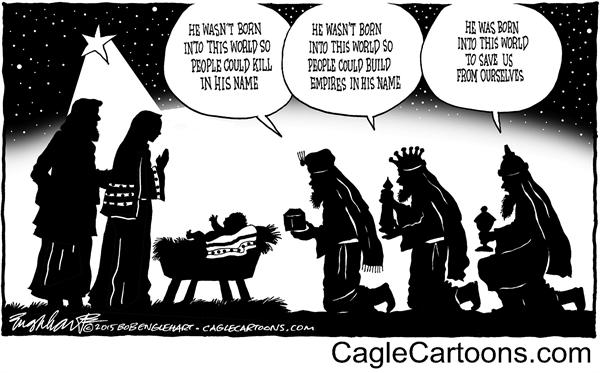 born-into-this-world-bob-englehart-politicalcartoons-com
