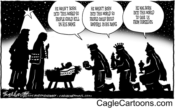 born-into-this-world-bob-englehart-politicalcartoons-com
