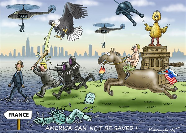 America cannot be saved Marian Kamensky Austria