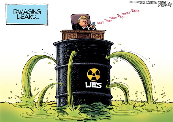 Leaks Nate Beeler The Columbus Dispatch