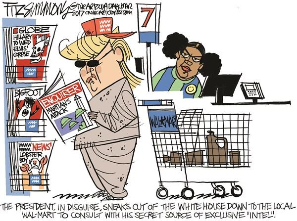Trump Intel David Fitzsimmons The Arizona Star