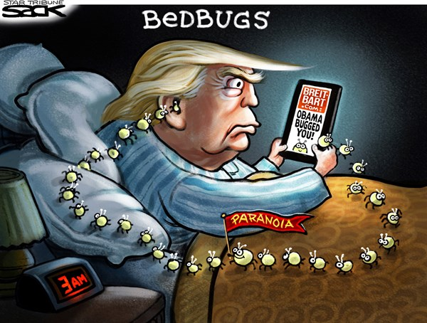 Trump Paranoia Steve Sack The Minneapolis Star Tribune