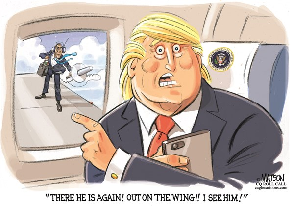 Trump sees Obama RJ Matson Roll Call