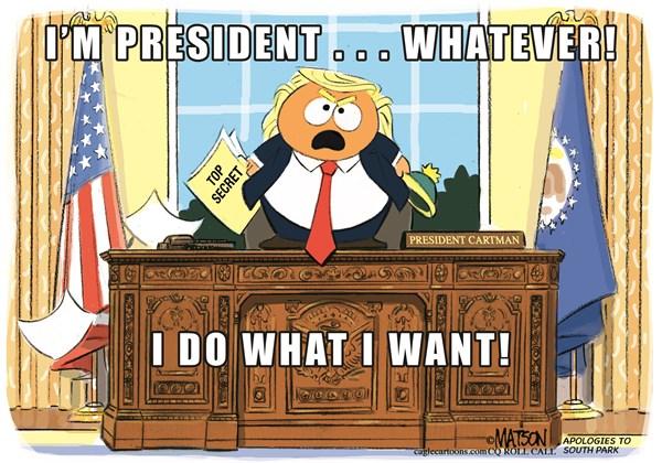 President Cartman RJ Matson Roll Call