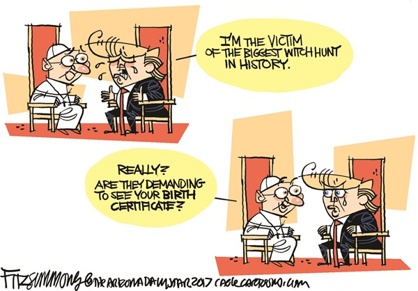 Witch Hunt David Fitzsimmons The Arizona Star