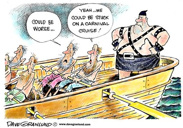 Carnival Dave Granlund Politicalcartoons com
