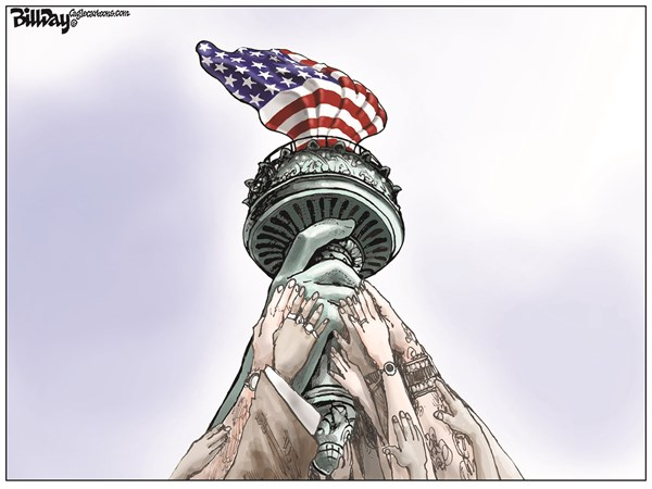 Fourth of July Bill Day Cagle Cartoons