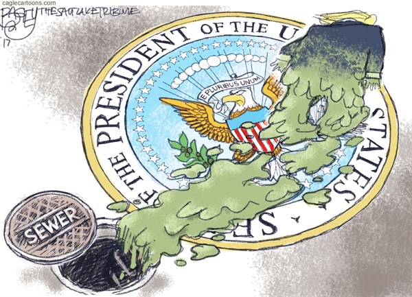 Offal Office Pat Bagley Salt Lake Tribune