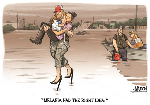Melania had right idea RJ Matson CagleCartoons com