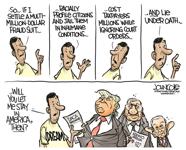 DACA John Cole The Scranton Times Tribune