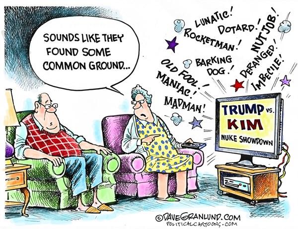 Dotard 1 Dave Granlund Politicalcartoons com
