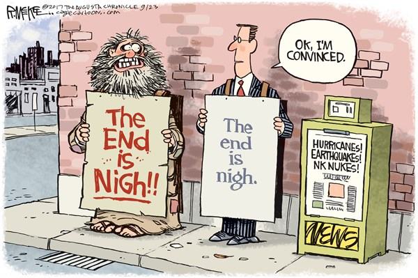 End is Nigh Rick McKee The Augusta Chronicle