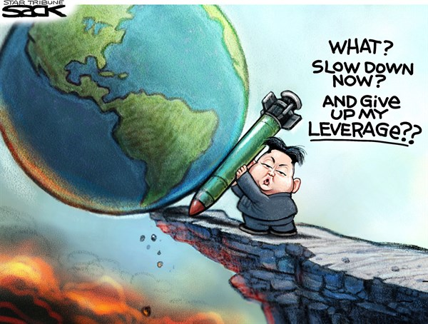 Evil Others Steve Sack The Minneapolis Star Tribune