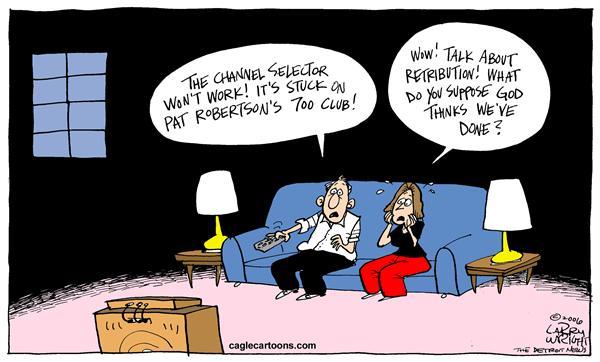 Gods Wrath Larry Wright CagleCartoons com