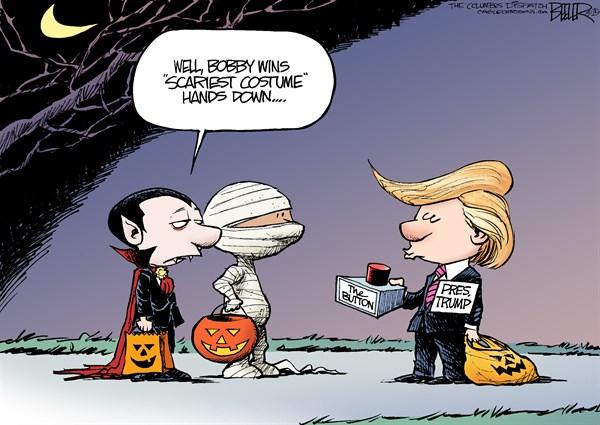 Scariest Costume Trump Nate Beeler The Columbus Dispatch