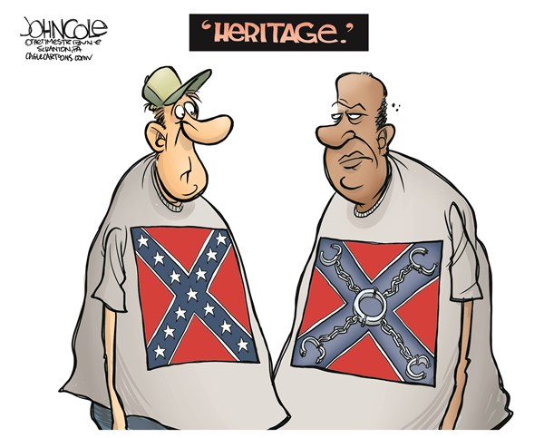 Confederate flag heritage excuse John Cole The Scranton Times Tribune