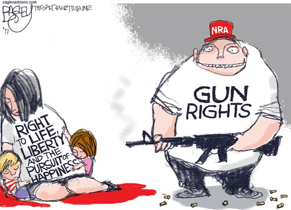 Gun Rights Pat Bagley Salt Lake Tribune