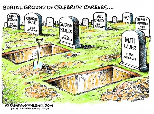 Sexual Assault Graveyard Dave Granlund Politicalcartoons com