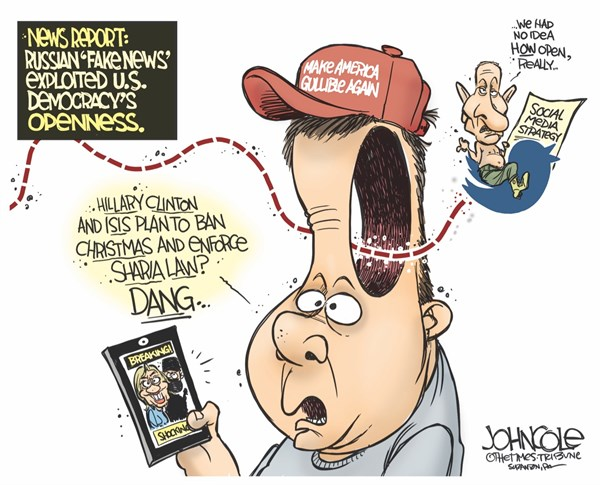 trump supporters John Cole The Scranton Times Tribune