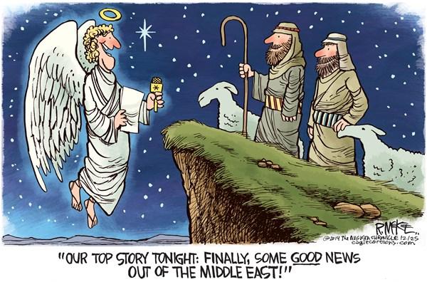 Christ is born Rick McKee The Augusta Chronicle