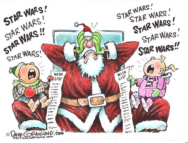 Star Wars FB Dave Granlund Politicalcartoons com