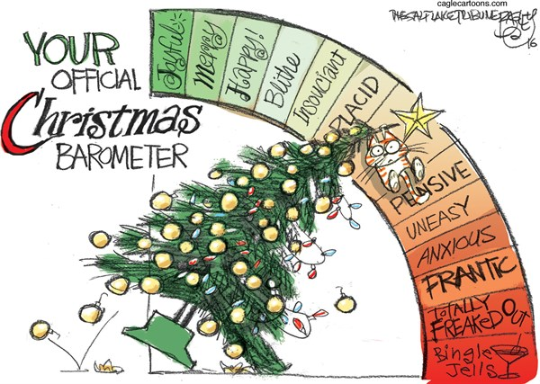 Xmas attitude Pat Bagley Salt Lake Tribune