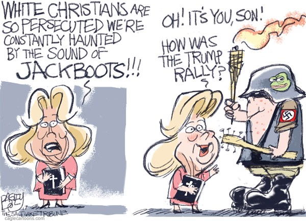 White Christians Pat Bagley Salt Lake Tribune