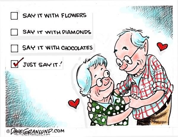 Valentine Gifts Dave Granlund Politicalcartoons com