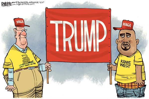 Kanye West Rick McKee The Augusta Chronicle GA