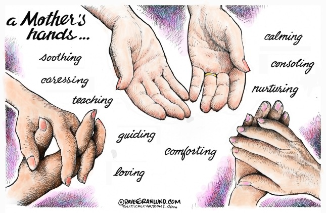 Mothers Hands Dave Granlund Minnesota
