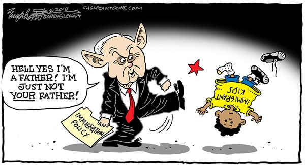 Sessions and Immigration Kids Bob Englehart Middletown CT