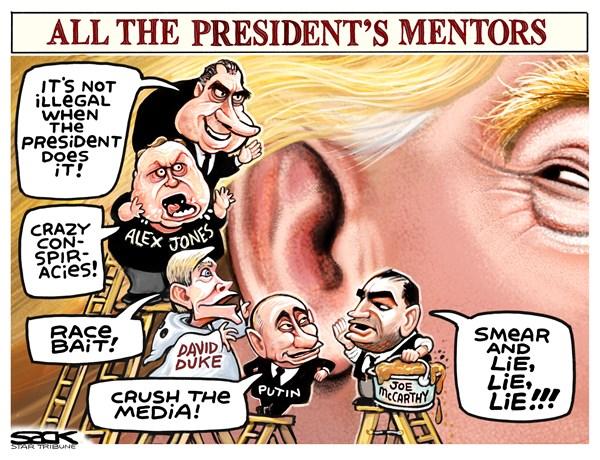 Trump mentors Steve Sack The Minneapolis Star-Tribune MN