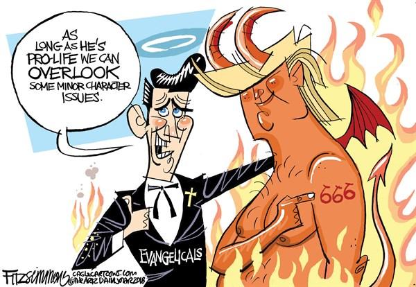 Evangelicals and the Devil David Fitzsimmons The Arizona Star Tucson AZ