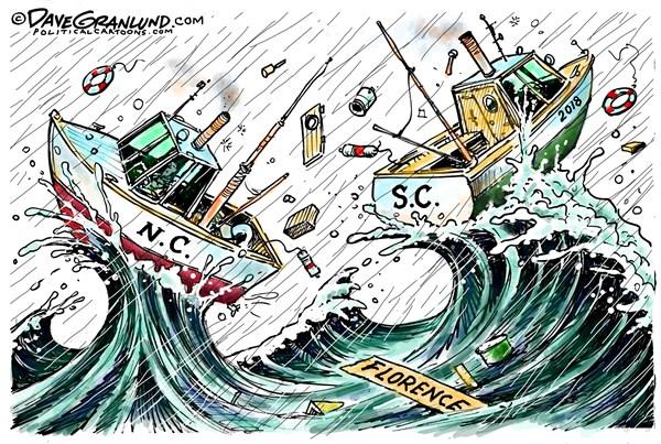 Florence Final Landing Dave Granlund PoliticalCartoons com