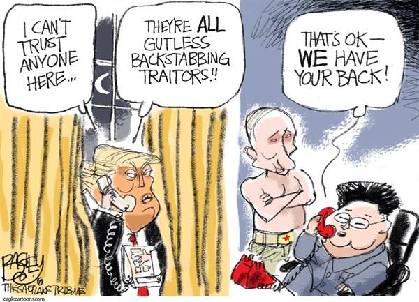 Traitor Friends Pat Bagley The Salt Lake Tribune UT