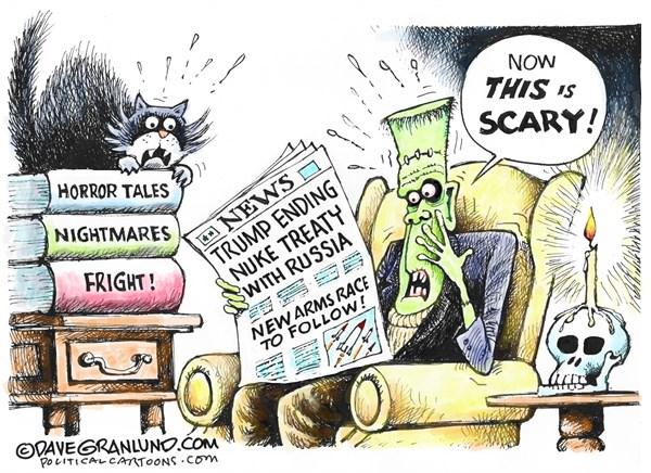 Halloween Political Scares Dave Granlund PoliticalCartoons com
