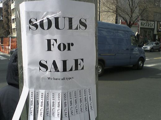 Souls for Sale Beachcombing Bizarre history blog