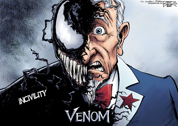 Venom Nate Beeler The Columbus Dispatch OH